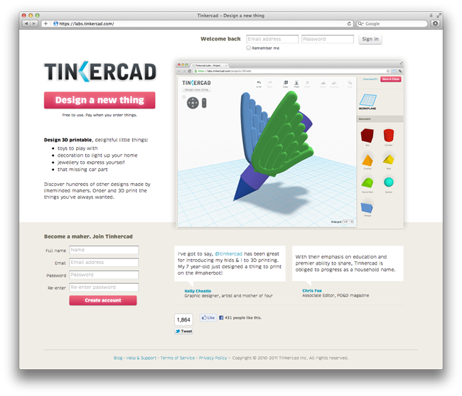New Version Of Tinkercad Is Ready For Early Testing