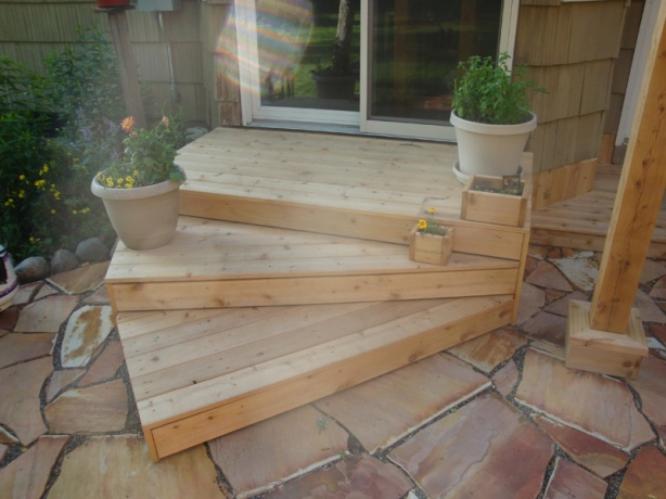 How to build wood deck steps plans free download testy39xqi for Wood deck designs free