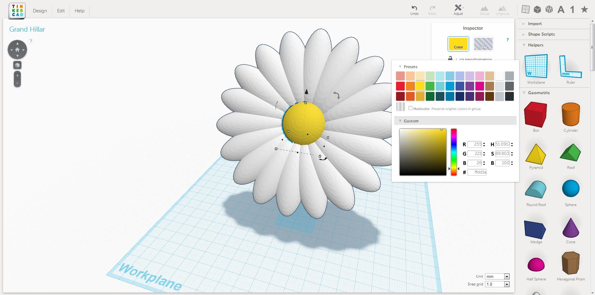 Custom colors in tinkercad tinkercad blog Tinkercad 3d