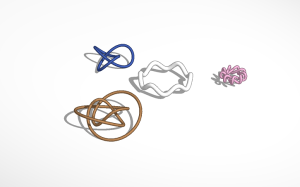 Knots, including the Figure 8.