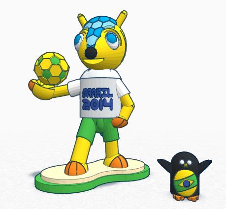 Fuleco - FIFA Mascot