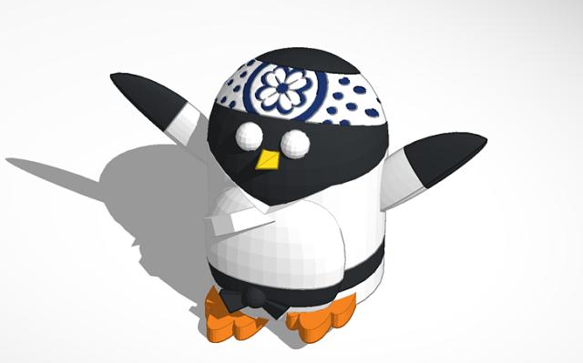 peter_penguin_as_karate_kid_penguintimemachine