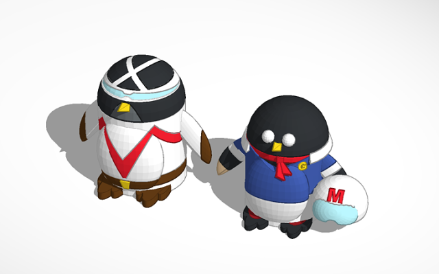 peter_penguin_as_racer_x_f_and_speed_racer_spe3dweek_penguintimemachine