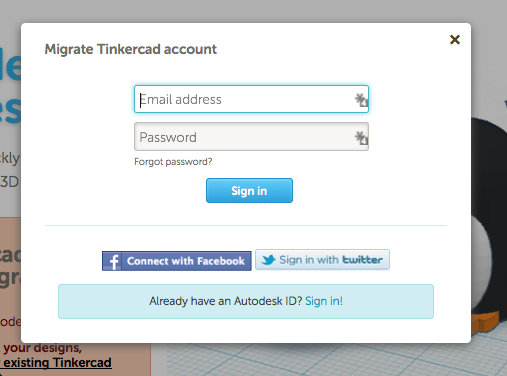Fixing Tinkercad Passwords Are Different Tinkercad 3d