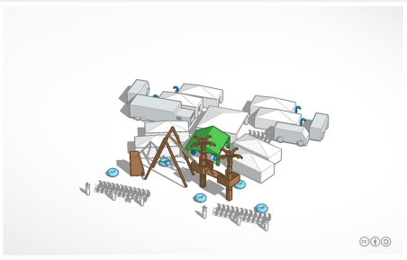 Tropical Tree House Tinkercad