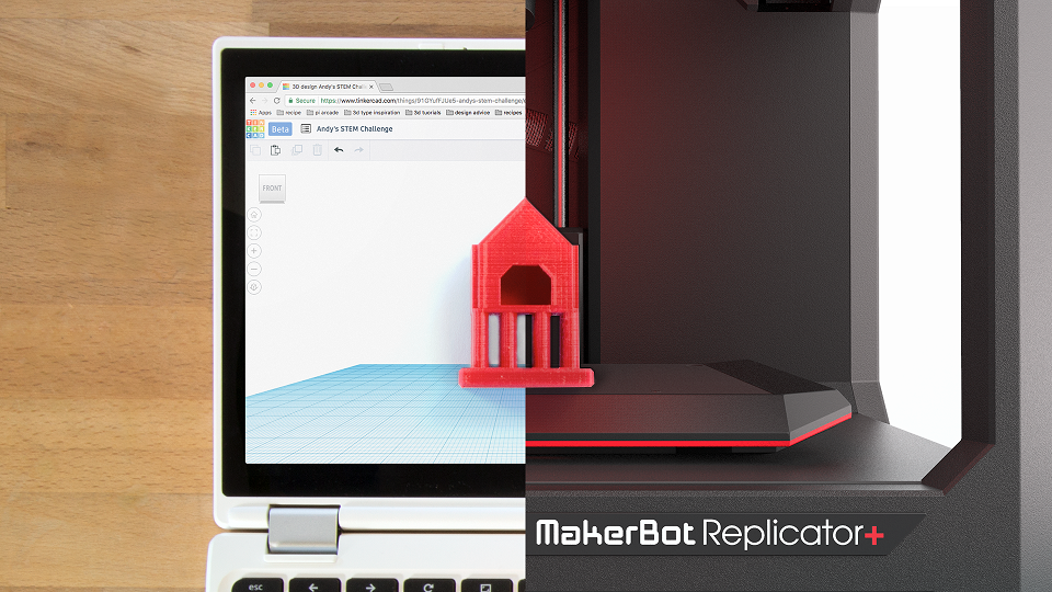 Makerbot Tinkercad Connect For Seamless Cloud Based 3d