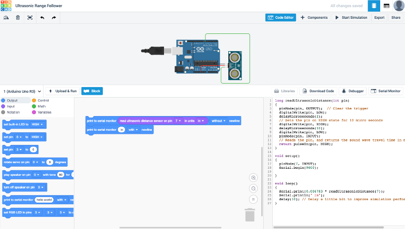 Code Blocks Powered by Scratch Blocks Now In Tinkercad! – Tinkercad Blog