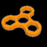 3D design fidget spinner