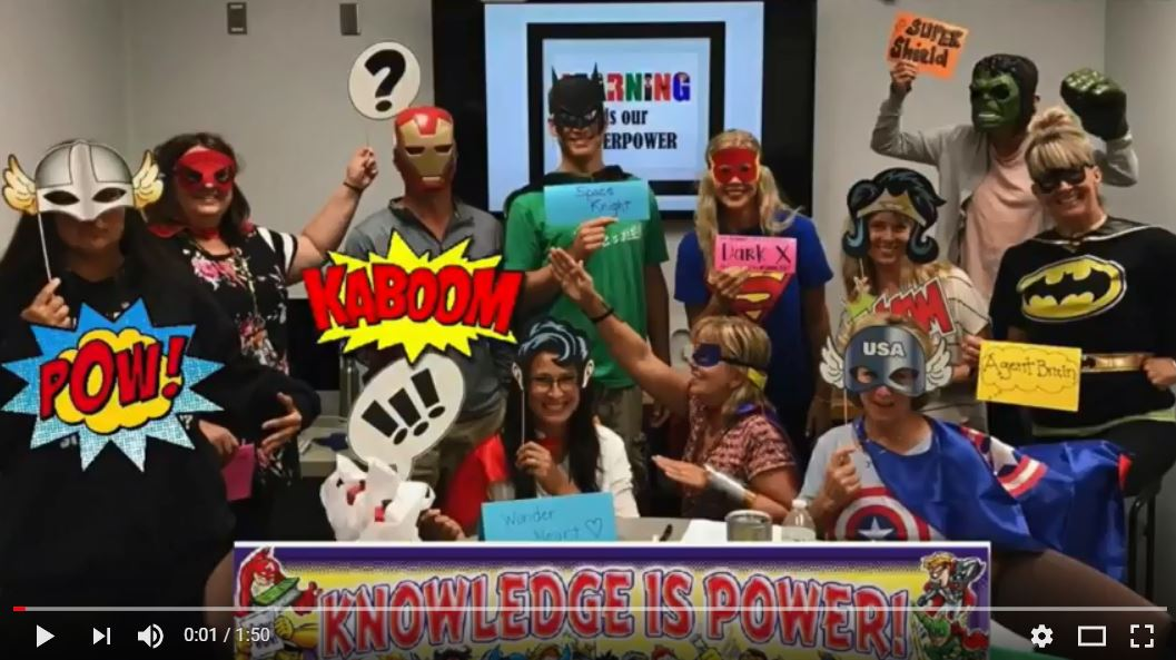 superhero makerspace