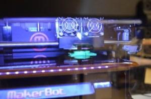 3D printer printing Coopers watch
